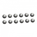 WRC 02041 Diff Ball Set (Steel)