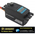 Digtal Titanium Gear Low Profile Servo 4.8V-6V For 1/10 Touring Drift RC K-power DSC090 45g/9.3kg/0.08s