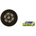 Matrix 1/8 Carbon Rims with tires front and rear
