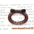 TOPCAD FUEL LINE COIL PROTECTOR 6-INC LONG