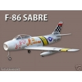 "F-86 Sabre EDF 56"" wing span Ducted Fan R/C Aircraft"