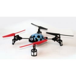 QuadroCopter Beetle RTF 2.4GHz, diameter approx 34cm  220V outlet charger, remote control with LCD display