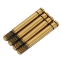 R109039 Ti-Coating Shock Shaft Short (4pcs)