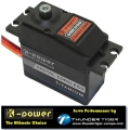 K-POWER by TTE Servo Digital Coreless DMC090  4,8 bis 6,0V, 8,8kg & 0,11sec (60°), Titan-Gears