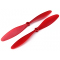 XK Detect X380 RC Quadcopter GPS Drone WL V303 9047 Propeller - RED Part No : XK.2.380.007