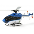 XK K124 EC145 6CH Brushless 3D6G System RC Helicopter RTF 2.4GHz