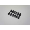 H0858 Ball link 6mm Short (10pcs)