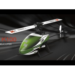 XK K100 Falcom 6CH Flybarless 3D6G System RC Helicopter RTF