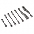 FTX SURGE Upper wishbone struts & steering rods, Set  Front & Back, for all model types