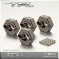 TFL Aluminium Alloy Hubs Hex Connector suitable for Original Axial SCX-10