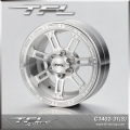 TFL 2.2 Inch Beadlock Wheels With The Hub C1402-31SILVER