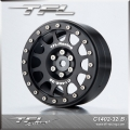 TFL 2.2 Inch 12 holes Beadlock Wheels With The Hub C1402-32Blk