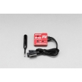 Yokomo Steering Gyro with End Point Adjust for 2-3Ch Radio - Red
