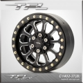 TFL 2.2 Inch CNC Aluminum Alloy Beadlock Wheels with The Hub designH/K/L for RC Car