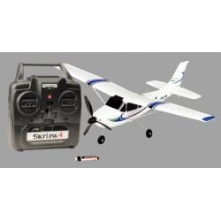 Thunder Tiger MICRO COMET RTF 2.4GHz including LiPo battery  EPS, wingspan 448mm, weight 47g