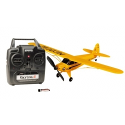 Thunder Tiger MICRO PIPER J-3 CUP RTF 2.4GHz including LiPo battery  EPS, wingspan 530mm, weight 42g