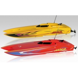 MADCAT OBL RTR Brushless Compact Power Catamaran 2.4GHz  RED 690mm, ABS, including power, water-cooled motor & controller