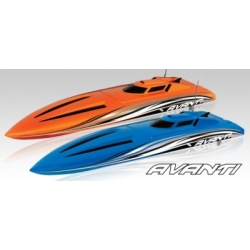 AVANTI OBL RTR Brushless Compact Power Boat 2.4GHz  BLUE, 740mm, ABS, water-cooled motor & controller