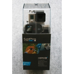 GoPro 3 + Black Edition camera with remote control  and waterproof housing
