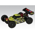 EB4 S2.5 1: 8 Nitro 4WD Buggy RTR 2.4G 3,5ccm, GREEN-Carbon  BigBore damper, cab-forward body, aluminum tuned pipe, Power-L-servo