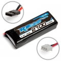 TEAM ASSOCIATED 2S LiPo RX 7.4V, 2100mAh  receiver battery, approx 86,5x30,5x16,5mm, 88g