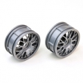 Thunder Tiger 1/10 BBS RIMS GRAY  (PAIR)
