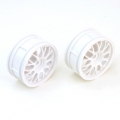 Thunder Tiger 1/10 BBS RIMS white  (PAIR)