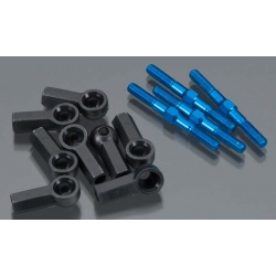 Thunder Tiger  Aluminum Upper Rod  for  Tomahawk VX, MX, Sparrowhawk DX, VX and VX Kit