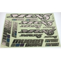 Mugen MRX5 Metallic Decal Sheet