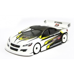 BDTC-200SRK Striker SR-Clear body shell 1/10 TC, 200mm light weight