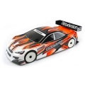 BDTC-190SRK3.0 Striker 3.0 clear body shell , 190mm light weight