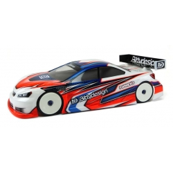 BDTC-190NRD Nardo 1/10 TC Clear Body shell 190mm light weight