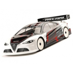 BDTC-190ASC Ascari clear body shell 1/10 TC , 190mm light weight
