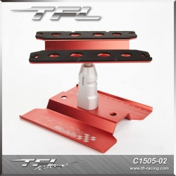 TFL RC Car Stand New Version In Red Color
