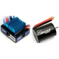 XP Brushless Combo + SC1200-540 SL 3900KV  water-resistant regulator; Limit LiPo: 6100kV 2S / 3S 4000KV