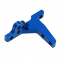 Team Associated TC6.1Bulkhead top for vertical ball heads, type'' B'' (1)  anodized'' team'' Tuning Factory, Aluminum, Blue