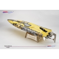 TFL Hobby 1106 Pursuit Racing Boat 82cm 3660/1620KV Motor 125A ESC Fibre Glass RC Boat ARTR