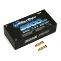 TEAM ASSOCIATED 7.4V 25C LiPo'' SHORTY'' Wolf Pack 3800mAh  Compact Hard case with 4mm gold connectors, 207g, 94x47x24, 5mm