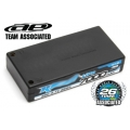 TEAM ASSOCIATED LiPo 3.7V 7000mAh 65C Hard Case  for 1:12, 93x47x18, 5mm, 155g, 4mm gold connectors