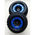 "Thunder Tiger RIVAL complete wheels 1:8 Monster Truck'' beadlock ""style (2)"
