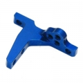 TC6.1 Team Associated Bulkhead top for vertical ball heads, type'' A'' (1)  anodized'' team'' Tuning Factory, Aluminum, Blue