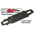 Team Associated TC6.1 WORLDS'' CAR'' chassis, carbon fiber CNC  2.25 mm thickness and ultra-slim design
