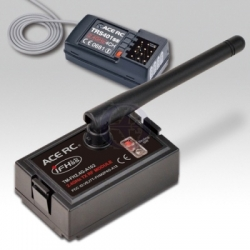 Thunder Tiger Transmitter module 2.4G Futaba 4-channel receiver