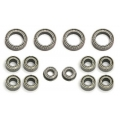 TEAM ASS TC6.1 ball bearing set CERAMIC light running (14)  for 03030107