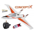 Thunder Tiger CONCEPT X EDF Jet EPO ARTF including brushless motor  with EDF-75 and BLC-40