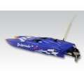 Thunder Tiger DESPERADO JR Compact Power Brushless Boat RTR 2.4G, BLUE  640mm, ABS, water-cooled motor and controlle